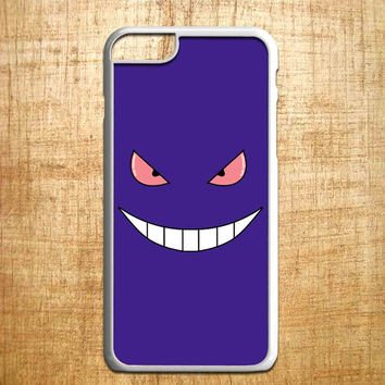 Pokemon Gengar Sinister face for iphone 4/4s/5/5s/5c/6/6+, Samsung S3/S4/S5/S6, iPad 2/3/4/Air/Mini, iPod 4/5, Samsung Note 3/4, HTC One, Nexus Case*PS*