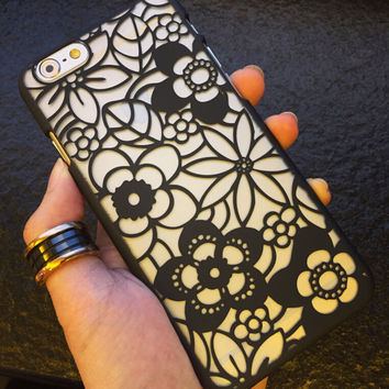 Sexy Lace iPhone 7 se 5s 6 6s Plus Case + Gift Box