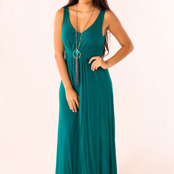 Easy to Style Maxi in Teal