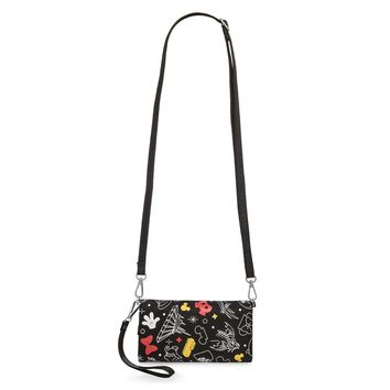 Disney Parks Icons Mickey and Minnie Wristlet Bag New with Tags