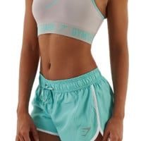Womens Form Sports Bra | Cool Grey / Mint Green | Gymshark