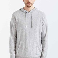 CPO Nylon Blocked Hooded Sweater- Grey