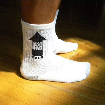 Personalized Father's Day Socks - Set of 3