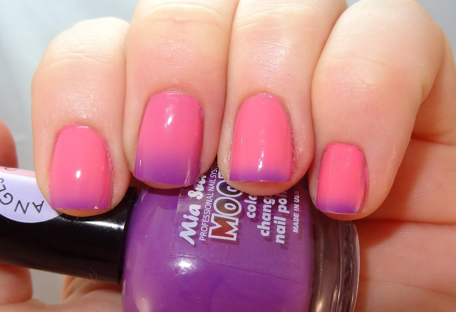 Mia Secret Mood Nail Lacquer Color From Amazon Things I