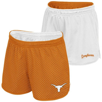 Texas Longhorns Youth Girls Highlight II Reversible Shorts - Burnt Orange - http://www.shareasale.com/m-pr.cfm?merchantID=42812&userID=1042934&productID=534106578 / Texas Longhorns