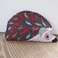 Vintage Floral Hedgehog Door Stop | Homely Hearts
