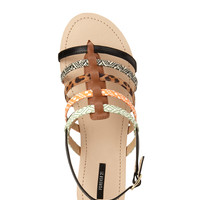 Kitschy Strappy Sandals