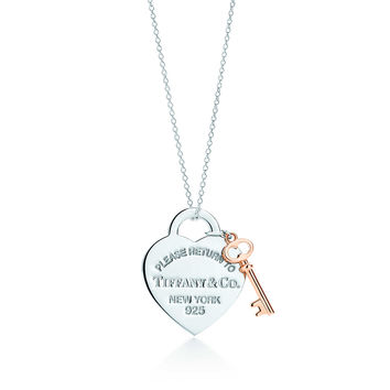 Tiffany & Co. - Return to Tiffany®:Heart Key Pendant