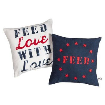 FEED for Target Decorative Pillow