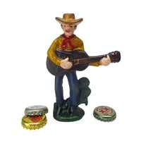 Cactus Pete Cowboy Bottle Opener