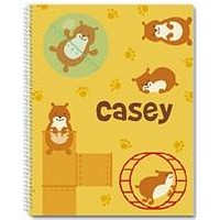 Hamster Havoc Notebook