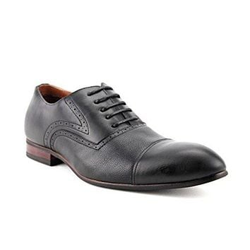 Ferro Aldo Men's 19389L Round Cap Toe Lace Up Dress Oxfords Shoes