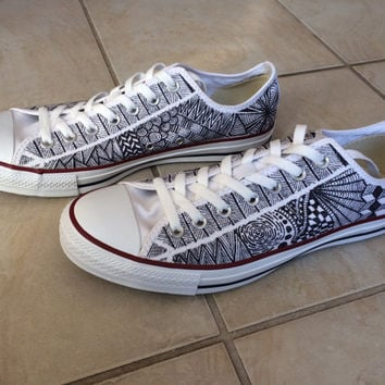 Men's or Women's Custom Designed Converse All Star Shoes