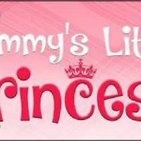 Mommys Little Princess Sign Tag