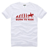 """Born To Ride Horse"" Tee"