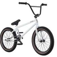 "2016 Premium Duo 21"" Bmx Bike Gloss White"