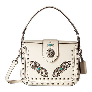 COACH Western Rivets Page Crossbody Chalk - Zappos.com Free Shipping BOTH Ways