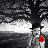 Dark Days Of A Clown 5x7 Altered Photo Print On Etsy