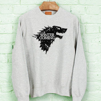 Winter is Coming Game of Thrones for Sweater/Sweatshirt