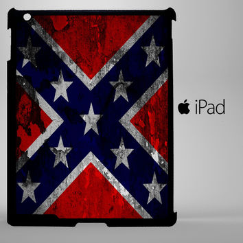 Confederate Flag A0161 iPad 2, iPad 3, iPad 4, iPad Mini and iPad Air Cases - iPad