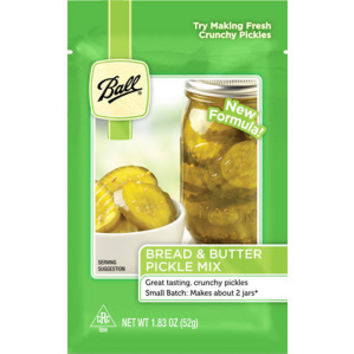 Ball® Small Batch Bread & Butter Pickle Mix, 2/pkg.
