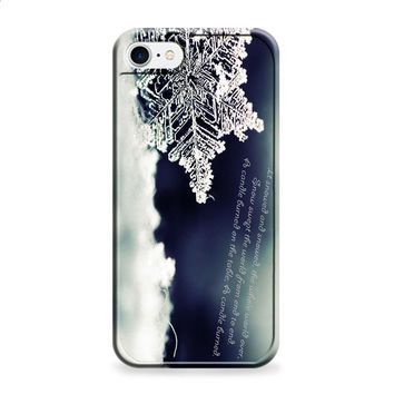 BABY IT'S COLD OUTSIDE SNOWFLAKE QUOTES 2 iPhone 6 | iPhone 6S case