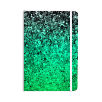 "Ebi Emporium ""Romance Me Green"" Teal Glitter Everything Notebook"
