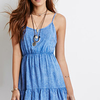 Ruffled Mineral Wash Cami Dress