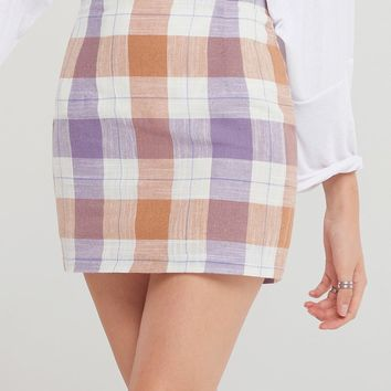 Karen Plaid Skirt-2 Colors