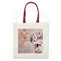 Dance under the cherry blossom tree bag from Zazzle.com