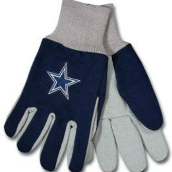 Twotonegloves Dallas Cowboys Two Tone Gloves National Football League Athletic Association Nfl Sport Sporting Game Memorobilia Extrml