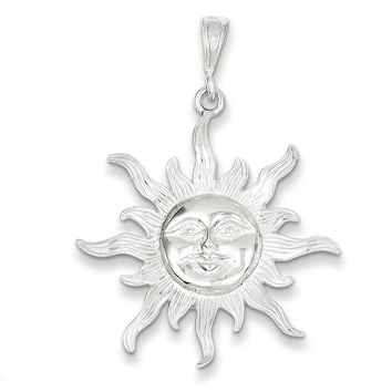 Best silver sun pendant products on wanelo sterling silver sun pendant mozeypictures Image collections