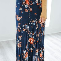 Floral Affections Maxi Skirt