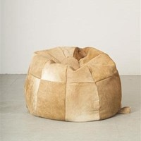 cow hide bean bag - Google Search