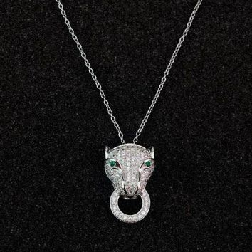 DCCK Cartier Woman Fashion Animal Plated Necklace Jewelry-1