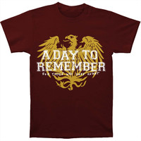 A Day To Remember Men's  Friends Maroon T-shirt Maroon