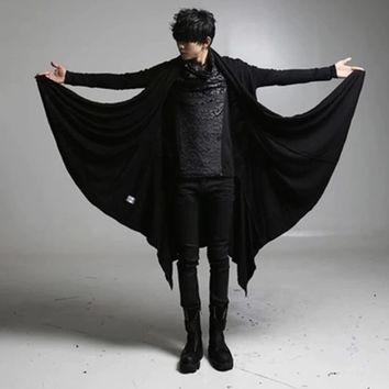 Rock Gothic Vampire Steampunk Cosplay Trench Coat