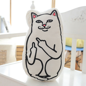RIPNDIP Lord Nermal Stuffed Animal Pillow