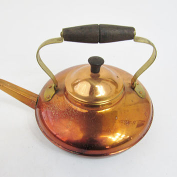 Copral Copper Tea Pot Made in Portugal