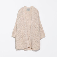 WRAPAROUND CARDIGAN