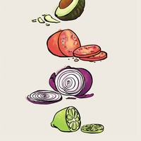 """Guacamole"" - Art Print by Mal Jones"