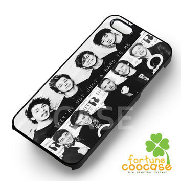 5 SSecond Of Summer and One Direction They're Not Just A Band To Me -5TL for iPhone 4/4S/5/5S/5C/6/ 6+,samsung S3/S4/S5/S6 Regular/S6 Edge,samsung note 3/4