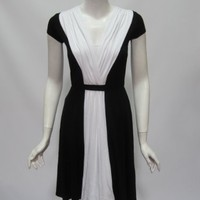 Only Hearts Womens So Fine Colorblock Dress $165 New