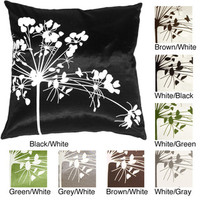 Spring Flower Small Throw Pillow | Overstock.com