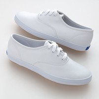 Keds Champion Leather Oxford Shoes - Women