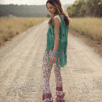 Cowgirl Dreams Tassel Vest – Turquoise « Spell & the Gypsy Collective.
