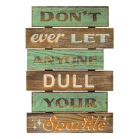 New View ''Sparkle'' Wood Wall Decor