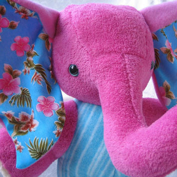 Home Decor Elephant Pink Turquoise With From