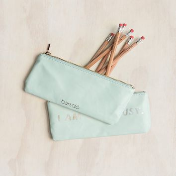 I Am Very Busy Get It Together Pencil Pouch by Bando