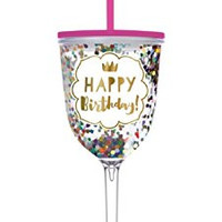 Happy Birthday Acrylic Glass By Slant